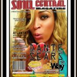 Dante Sears on the Cover of Soul Central Magazine