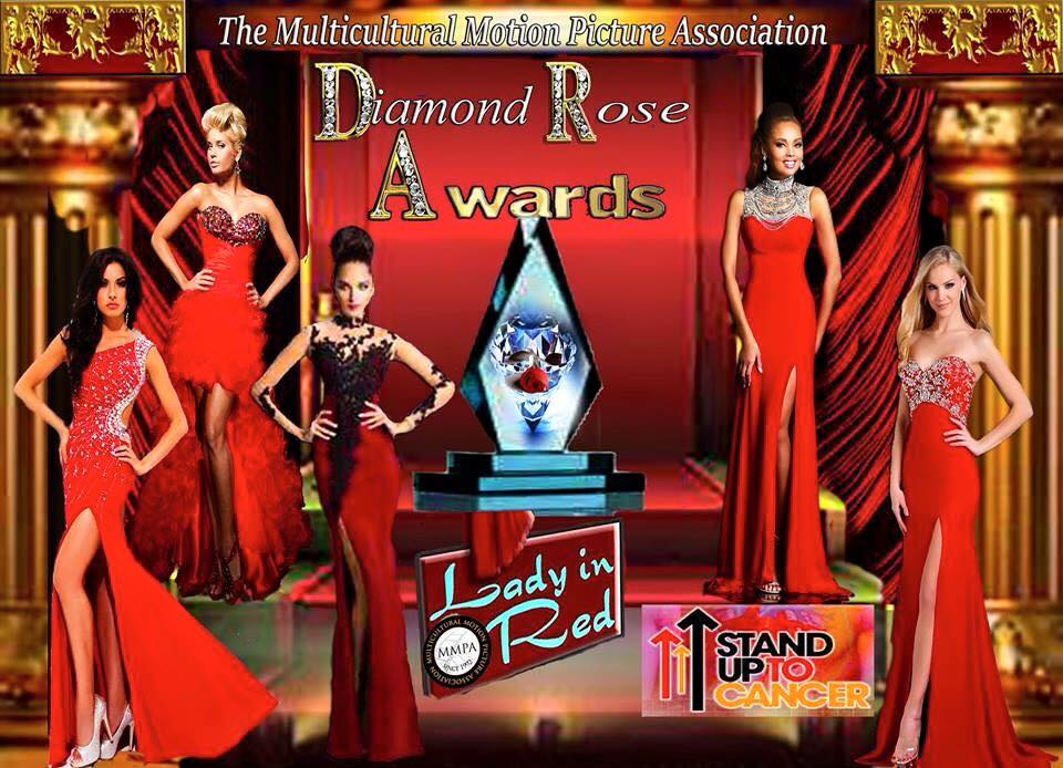 Dante Sears Nominated for Rose Diamond Award by Multicultural Motion Picture Association